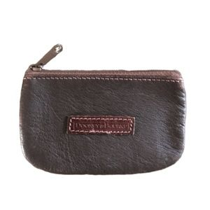 Dooney & Bourke Leather Coin Pouch